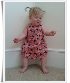 Purple Swallows Dress and Bloomers Set, 12-18 months £16.50