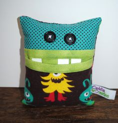 tooth fairy pillows for boys | Tooth Fairy Pillow for Boy by CuddleWumkins on Etsy