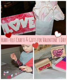 4 handmade valentine's day gifts (that take 15 minutes or less)
