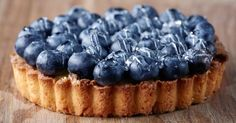 Recette de Tarte légère aux myrtilles. Facile et rapide à réaliser, goûteuse et diététique. Ingrédients, préparation et recettes associées.