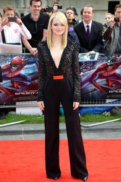 Emma Stone   Low Cut Beauty