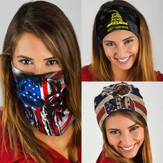 Headwear Headband Collage Splice Triangle Head Scarf Wrap Sweatband Sport Headscarves For Men Women