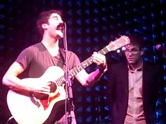 Don't you - 12/18/11 Joe's Pub - my fave darren song