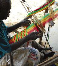 Kente Cloth, Bonwire, Ghana