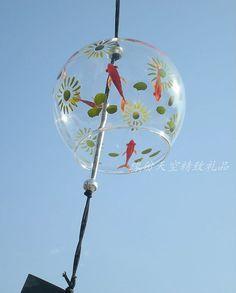 Handmade Glass Windchime For wedding gift by KNIKlampwork on Etsy