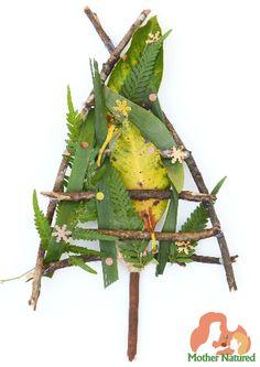 Christmas Tree Craft for children