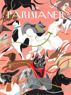Ping's contribution to the New Yorker cover-inspired exhibition