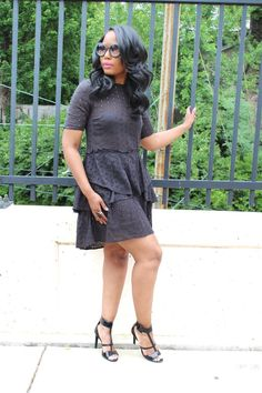 How I styled the perfect little black dress.