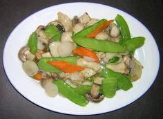 Because Moo Goo Gai Pan is even worse than chicken with broccoli. Description from uproxx.com. I searched for this on bing.com/images