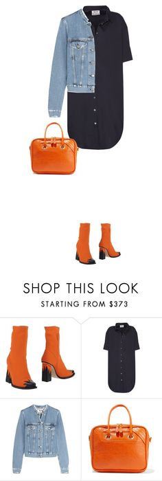 """""""5.601"""" by katrinattack ❤ liked on Polyvore featuring MSGM, Acne Studios and Balenciaga"""
