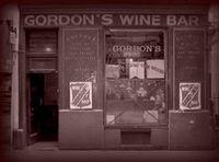 gordon's   london's oldest wine bar