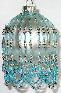 bead christma, bead ornament, ornament cover, christma ornament