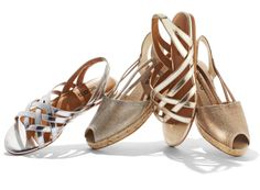 Prized Metals: Soft silver and gold are the new neutrals. They go with almost everything, adding a light touch of sophisticated glamour. Chico Shoes, Fashion News, Fashion Shoes, Chicos Fashion, Women Accessories, Fashion Accessories, Looking For Women, Pumps, Stilettos