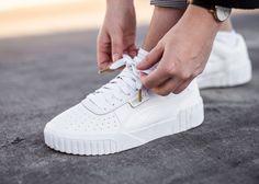 basket puma blanche femme