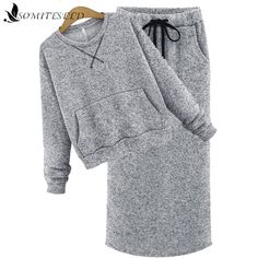 2017 New Fashion Autumn Winter Long Sleeve High Waist Knit Women 2 Piece Skirt Sets Tracksuit Women Dress Suit In Stock Womens Dress Suits, Suits For Women, Clothes For Women, Warm Outfits, Casual Outfits, 2 Piece Skirt Set, Iranian Women Fashion, Clothing Hacks, Mode Hijab