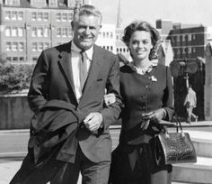 Cary Grant & Dyan Cannon