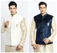 Nehru Jacket - The Latest Wedding Outfits for Men