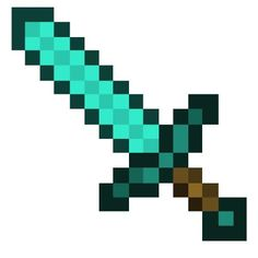 minecraft sword pattern | Diamond Sword; Diamond, minecraft, Sword