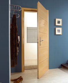 Inside the flat - 3point lock security door