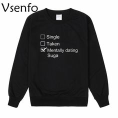 $12.88 /Cheap bts sweatshirt women,   Women Casual Letter Single Taken Mentally Dating Suga Hoody Hipster Tumblr Tracksuit Jumoer Tops #womensfashion #womenswear #womenshealh #womensrights #womensday #ladies #womenclothing #tshirt #tshirtdesign sweatshirts men sweatshirts sweatshirts men hoodie sweatshirts men fashion sweatshirts men outfit sweatshirts & hoodies #chrismasday #fathersday #jacket #jumper #sweatshirts #mothersday #menswear #menshair #womenshair