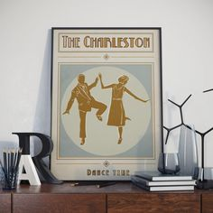 The Charleston Poster. High Quality Print. by Tedsposters on Etsy