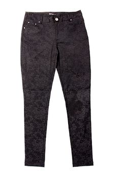 Black Kelso pants- a lady's best friend, tailored, black pants are flattering and versatile. The subtle pattern proves once again the freedom that monochrome allows to play with pattern and texture