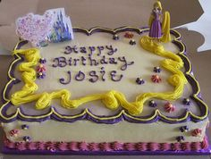 I bet you could do this Tangled cake!