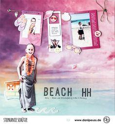 Beach - Layout mit dem Julikit | von Stephanie Schütze für www.danipeuss.de