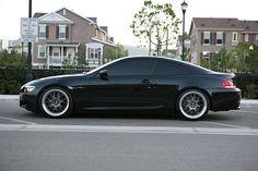 BMW 6 on LeMans Wheels