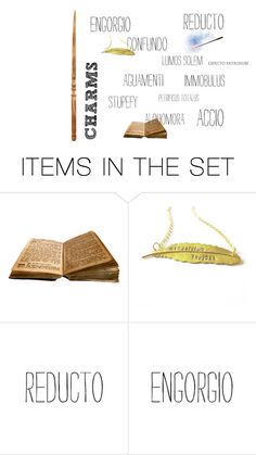 """""""Charms"""" by lyra13 ❤ liked on Polyvore featuring art"""