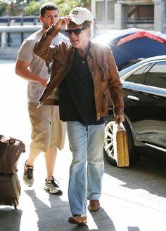 Robert Redford - Robert Redford Leaves LA