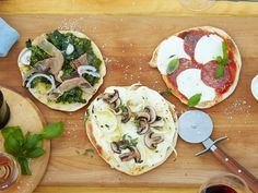 Grilled Pizza for a Crowd recipe from Food Network Kitchen via Food Network
