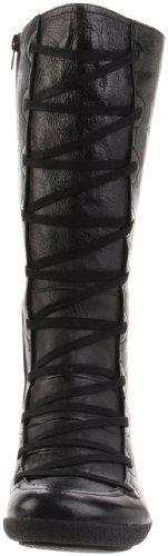 Miz Mooz Women's Otis Knee-High Boot Black