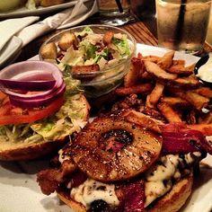 Photo by rvanosch - Enjoying the mighty Kona burger at Original Joe's #ojsmenu
