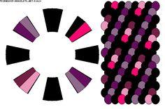 Tons de rose et violet