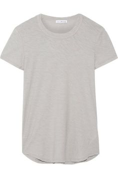 James Perse - Slub Cotton-jersey T-shirt - Stone -