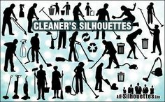 cleaners-silhouettes