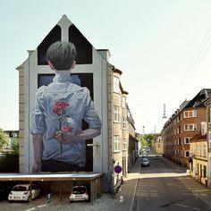 Tremendous Murals and Artworks by Sainer and Bezt aka Etam Cru.   Cut Paste Studio  Art artist artwork entertainment beautiful murals street art illustration  creativity