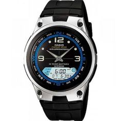 214e69ec20e Casio Men s Core AW82-7AV Silver Resin Analog Quartz Watch Mens Outdoor  Clothing