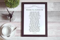 Promise - wedding poem printable by Ms Moem Wedding Gifts For Groom, Custom Wedding Gifts, The Wedding Date, Wedding Anniversary Gifts, Bride Gifts, Gift Wedding, Wedding Poems, Wedding Album, Wedding Promises