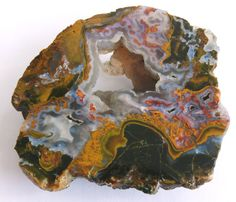 Hungarian Agate, Chalcedony  With Opal Half Piece - Super Rare Specimen or Lapidary Material (OP-GYT3)