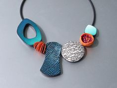 Sampler Necklace according to Bettina Welker | por ST-Art-Clay
