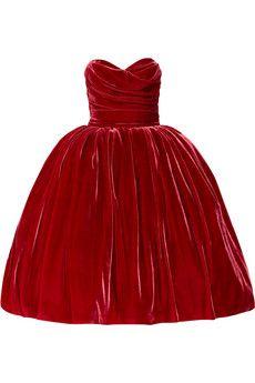 Red Velvet Dolce + Gabbana...THANKS JILLY...LOVE IT..