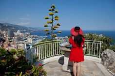 A view from Jardin Exotique botanical garden in Monaco. Photo by Rebecca Marshall for The New York Times