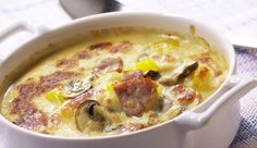 Unter der überbackenen Käsedecke steckt eine herzhafte Suppe mit Kasselerfleisch und jeder Menge Gemüse. MAGGI erklärt dir das Rezept.