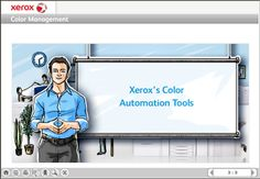 Xerox SCORM Based eLearning Courses on Behance