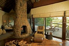 Singita Boulders Lodge in Sabi Sand Game Reserve