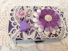 Dentelle thème Vintage Floral altéré Altoid par JudithAnnDesigns