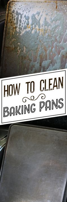 Baking pan stains can seem impossible to get out, no matter how hard you scrub. Left untreated, that brown, burnt-on greasy residue on your cookie sheets, muffin pans, cake pans or other bake ware can end up affecting the flavor of your culinary creations. Greasy, oily build-up and stains on your sheet pans and bake ware can be persistent, and a standard cleaning with soap and water usually won't do the trick.