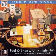 "Paul O'Brien - Stockfisch Studio Session 2009 EP on Import 180g 45RPM 12"" Vinyl"